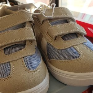 Cat /& Jack Toddler Boys/' Walking Shoes Sawyer Desert Tan Sneakers Casual Sz 7